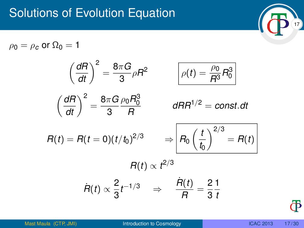 印度国立伊斯兰大学理论物理研究中心的演示文稿排版样例