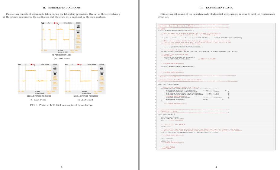 验报告latex模板
